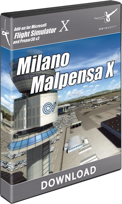 Milano Malpensa X | SimWare Shop