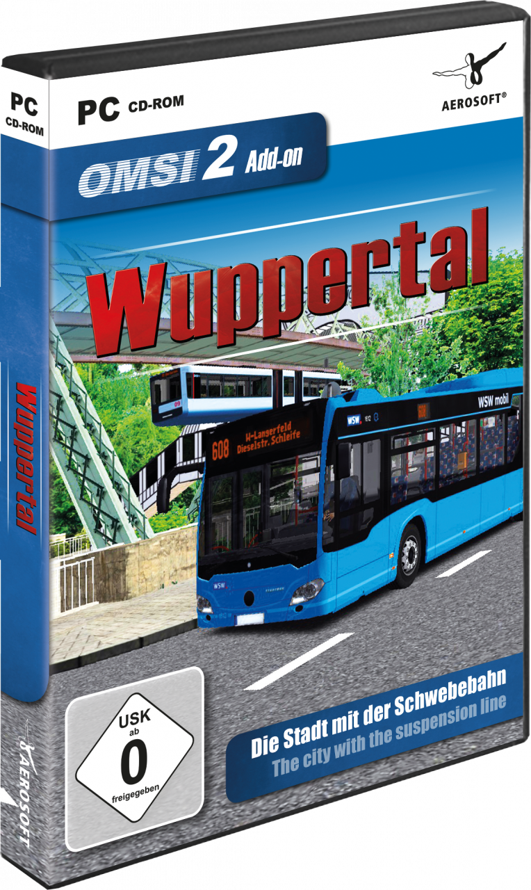 OMSI 2 Add-on Wuppertal | SimWare Shop