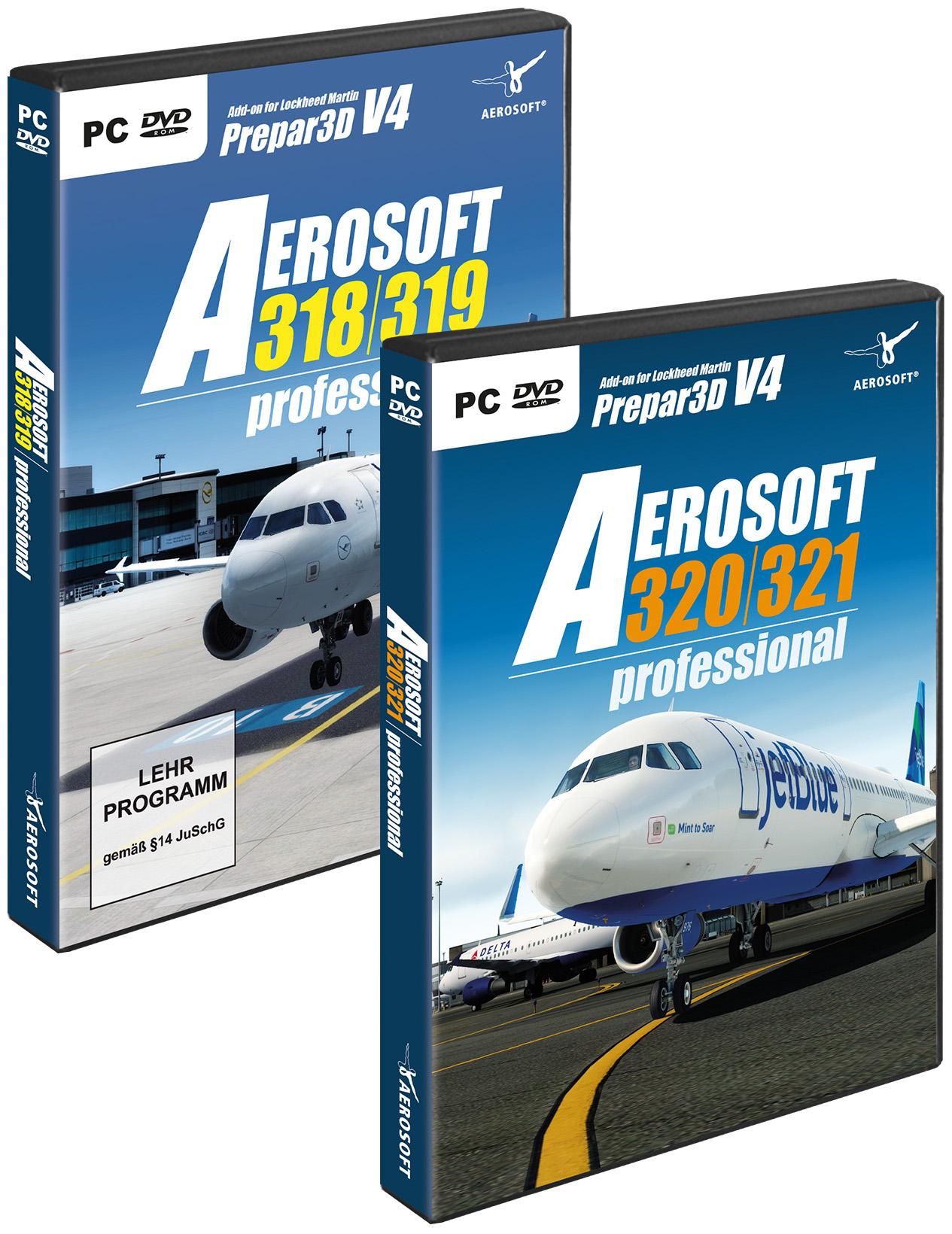 A320 Family professional Bundle   SimWare Shop