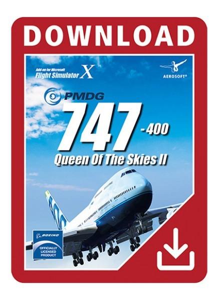 PMDG 747-400 V3 Queen of the Skies II for FSX | SimWare Shop