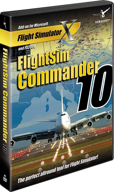 FlightSim Commander 10 0 | SimWare Shop